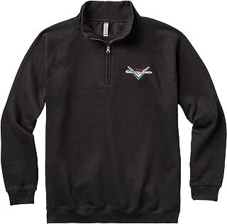 Fender Custom Shop Half Zip Sweater - XXL - Black