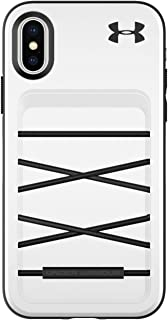 Under Armour Phone Case | for Apple iPhone Xs and iPhone X | Under Armour UA Protect Arsenal Case with Rugged Design and Drop Protection - White/Black