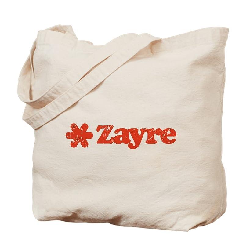 CafePress Zayre Discount Bin Natural Canvas Tote Bag, Cloth Shopping Bag