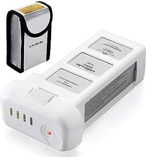Powerextra DJI phantom3 バッテリー ドローン用バッテリー phantom3 バッテリー 4480mAh 防爆バッグ付 Professional Advanced Standard 4K Drones - Upgradedに対応 専用 互換バッテリー