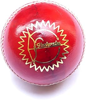 Ikshvaku Cricket Ball | Leather | Red | Test Grade Cricket Balls
