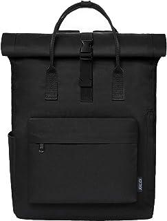 KALIDI Rucksack Damen Rucksack Herren Tagesrucksack mit Laptopfach, Unisex Modern Rolltop Rucksack Daypack, Wasserdichter ...