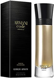 GIORGIO ARMANI Giorgio Armani Code Absolu for Men Eau de Parfum Spray, 3.7 Ounce, Multi-color