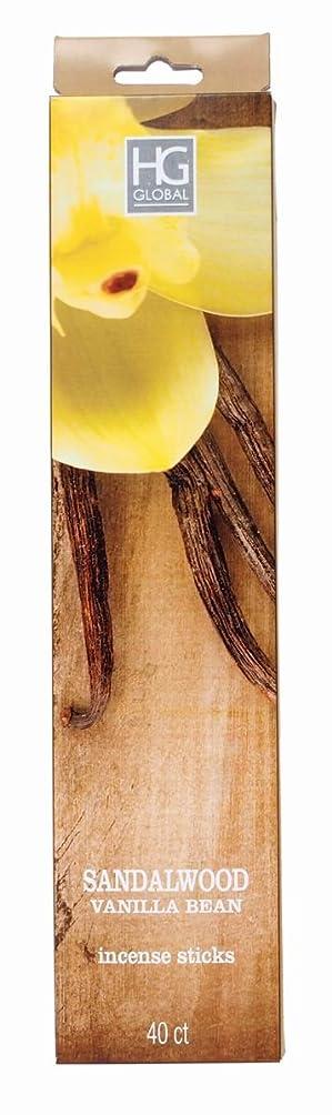 打たれたトラック居心地の良い読みやすさHosley 's Highly FragrancedサンダルウッドバニラIncense Sticks 240パック、Infused with Essential Oils。理想的なギフト、ウェディング、イベント、アロマセラピー、Spa,レイキ、瞑想、浴室設定w1