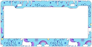 KSLIDS 4th of July Personalized Your Own License Plate Frame Stainless Steel- 12