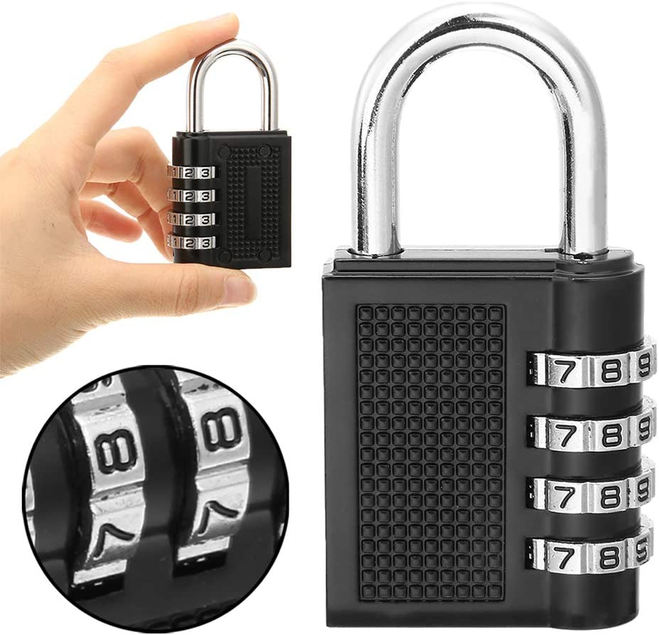 KNDJSPR Combination Code Lock Austin Mall 4-Bit OFFicial mail order Pure Waterproof Mec Outdoor