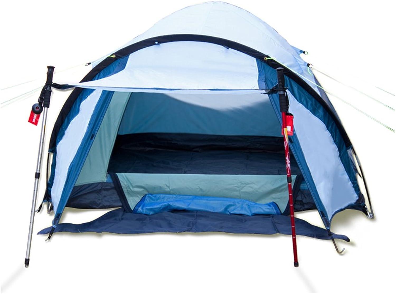 TESITE Zelt 3-4 Personen Verdickte Die Die Die HäNde, Um Regenfesten Outdoor Camping Schuppen (Blau) Zu Nehmen B07NN4SXYJ  Billig ideal 823ca9