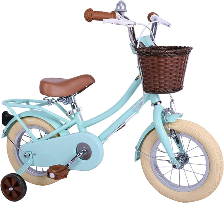 comprar mejor Kids'Bikes Guojunyan Bicicletas para Niños Bicicleta de 12 Pulgadas Pulgadas Pulgadas Bicicleta Azul para Niños Bicicletas para niñas con Estilo Bicicleta de Cocheretera Bicicleta para Estudiantes Niños  descuento