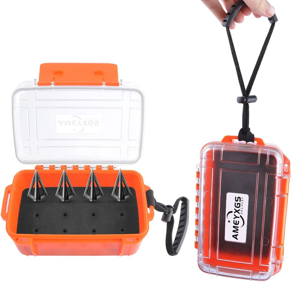 ZSHJGJR Archery Sales of SALE items from new works Broadhead Storage Box Popular shop is the lowest price challenge Waterproof Storag ABS Case