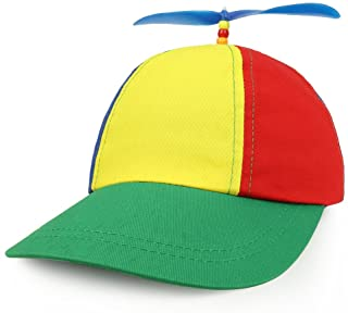 Armycrew Cotton Adult Multi-Color Propeller Helicopter Unstructured Baseball Cap