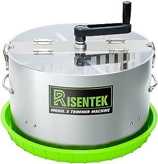 Risentek Bud Leaf Trimmer Machine 16-inch Hydroponic Bowl Trim Model X, MODELX1