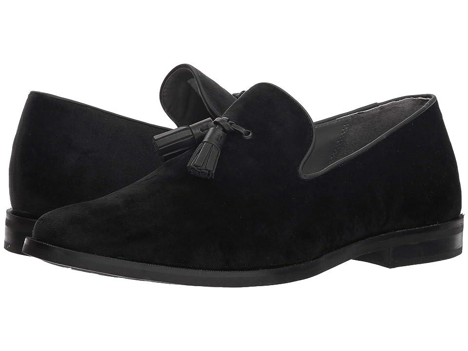 Sperry Gold Exeter Tassel Loafer (Black Velvet) Men