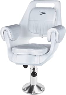 Wise 8WD007-7-710 Deluxe Pilot Chair with Adjustable Height Pedestal and Seat Mount
