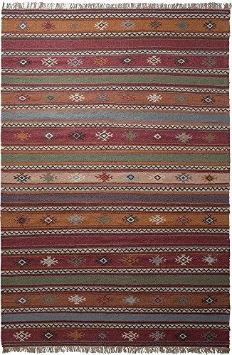 ESPRIT Moderner Markenteppich, Schurwolle, Mehrfarbig, 230 x 160 x 0.5 cm