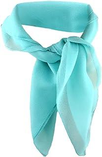 Nouveau 50x50cm satin foulard en Rose-Pink Points Motif nickituch foulard bandana