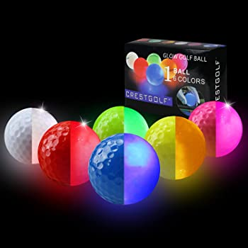 Crestgolf Flashing Glowing Golf Balls
