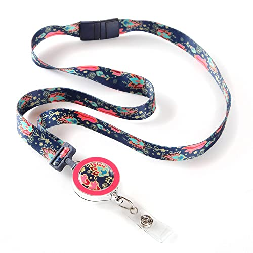 Cute Teacher Lanyard with Retractable Reel: Amazon com