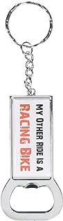Graphics and More Ring Bottlecap Opener 钥匙扣,My Other Ride 汽车汽车是赛车自行车 (KK0465)