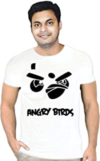 FMstyles Angry Bird White Unisex Tshirt - FMS314