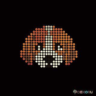 スパングル モチーフシート 犬 顔 ビーグル アイロン接着 Sサイズ