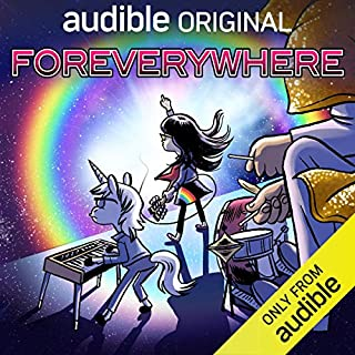 Foreverywhere audiobook cover art