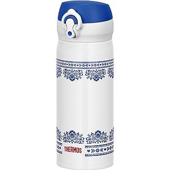 サーモス 水筒 真空断熱ケータイマグ ワンタッチオープンタイプ 400ml ブルーホワイト JNL-402 BLWH