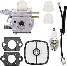 Carburetor with Fuel Line Kit for C1U-K52 C1U-K47 Echo SRM2100 GT2000 GT2100 PE-2400 GT-2400 PP-1200 SRM-2410 PP-1250 PP-800 PPF-2100 PPF-2110 PE-2000 LHE-2475 TT-24 SHC-1700 PPT-2100 SHC-2100