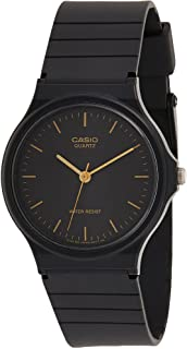 Casio Men's Dial Silicone Band Watch - MQ-24-1E