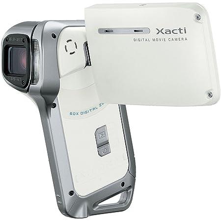 SANYO 防水デジタルムービーカメラ Xacti (ザクティ) DMX-CA8 ホワイト DMX-CA8(W)