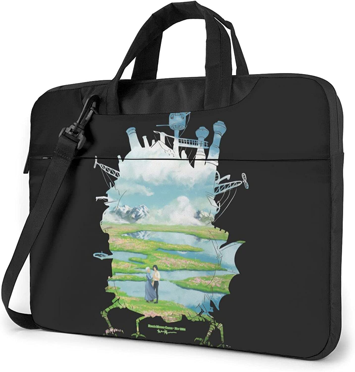 Genuine Howl'S Moving Castle Laptop Shoulder Carryi Durable Bag Computer Limited time trial price