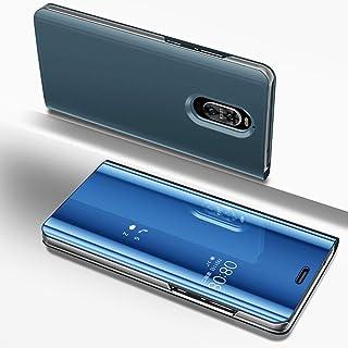 جراب Huawei Mate 9 Pro، جراب Eabuy ذو طلاء صلب من البولي كربونات + جراب شبه شفاف شفاف شفاف لهاتف Huawei Mate 9 Pro Blue