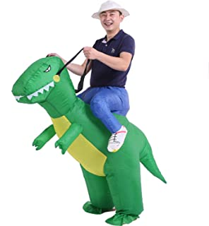 Halloween Inflatable Dinosaur Costumes Adult Kids Carry Me Costumes