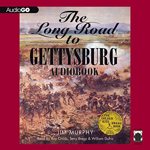 The Long Road to Gettysburg audiobook cover art