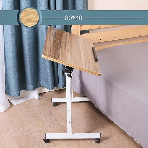 Table Pliante YH Ordinateur Portable Simple Bureau Lit Bureau Table De Levage Mobile Simple Pratique A+ (Couleur   A, Taille   80  50cm)