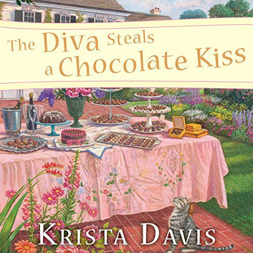 The Diva Steals a Chocolate Kiss audiobook cover art