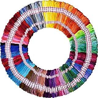 Embroidery Floss 240 skeins 1920M 100% Egyptian long-staple cotton pull strong bright light the only one DMC 8M/pc 24pcs/bag 10package Cross Stitch Threads Friendship Bracelets Floss