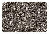 andiamo Schmutzfangmatte Sauberlaufmatte Fußmatte - Indoor/Outdoor Matte - waschbar, in 4 Farben erhältlich, Größe:40 x 60 cm, Farbe:Beige