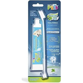 Fancy Pets Kit Dental con Pasta y Cepillo