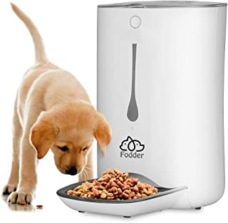 SereneLife Automatic Pet Feeder - Electronic Dogs and Cat Food Dispenser –Programmable Features for  Portion and Weight Control and Meal Scheduling – Built-In Voice Recorder and Player