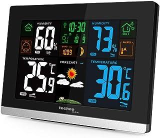 Technoline WS 6462 Funkwetterstation, Innentemperatur, Außentemperatur, Luftfeuchte, Luftdruck, Tendenzanzeige, Taupunkt, ...