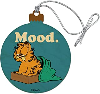GRAPHICS & MORE Garfield Mood Wood Christmas Tree Holiday Ornament