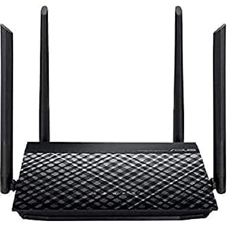 ASUS RT-N19 - Router WiFi N600 Mbps, 4 Antenas de 5 dBi (4x4, Servidor VPN, ASUS Router App, Control Parental, Modos repetidor y Punto de Acceso)