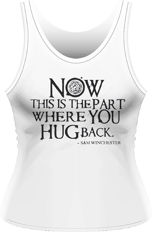 Plastic Head Supernatural Hug Back TV Camiseta sin Mangas ...