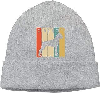 Sombrero de Punto Unisex de Estilo Retro con Silueta de Boxeador, Gorra de esquí cómoda