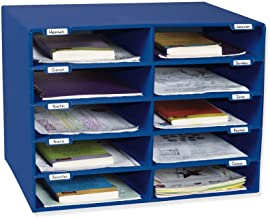 Classroom Keepers 10-Slot Mailbox, Blue (001309)