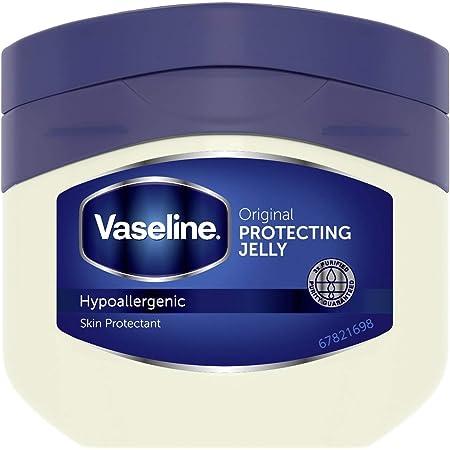 Vaseline(ヴァセリン) オリジナル ピュアスキンジェリー 全身の保湿ケア用スキンバーム クリーム 200グラム (x 1)
