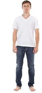 (ジェームスパース) James Perse 半袖 Vネック Tシャツ [MLJ3352] メンズ Mens ホワイト [WHT]