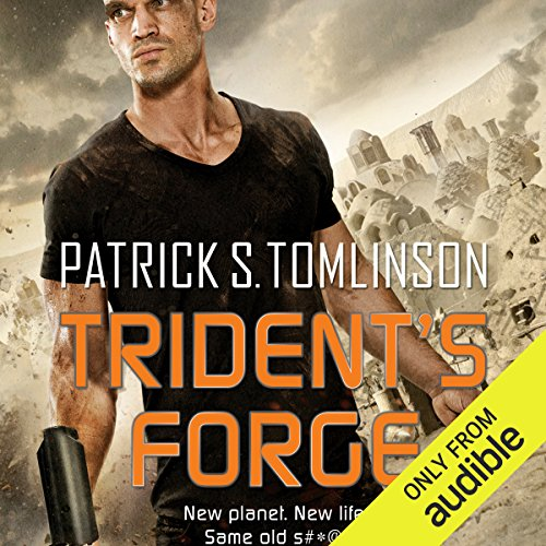 Trident's Forge audiobook cover art