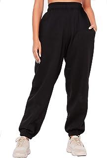 Crazy Girls Womens Fleece Casual Oversized Jogging Joggers Tracksuit Bottoms Ladies Jog Pants Size XS S/M M/L