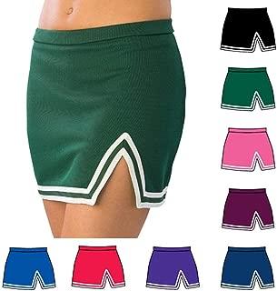 Pizzazz Green A Line Cheer Uniform Skirt Adult L